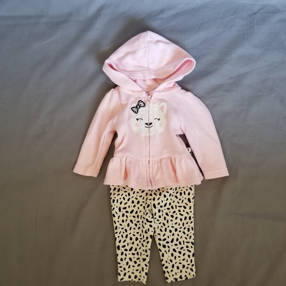 b96c8870d5 Baby Girl's, Light Pink, Carter's, Outfit